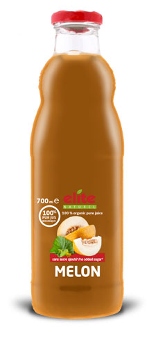 Bouteille 700 ml Elite naturel 100% pur jus bio Melon